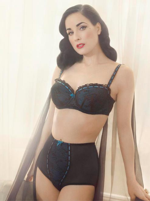 First Look: Dita von Teese's Von Follies lingerie collection