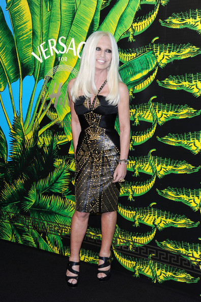 donatella versace cruise collection spring summer 2012
