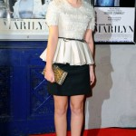 Emma Watson shines at the 'My Week with Marilyn' London premiere