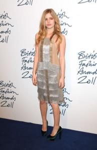georgia may jagger british fashion awards 2011