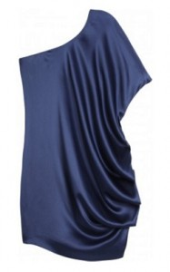 halston heritage slip drape dress