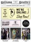 john galliano online store galliano gazette