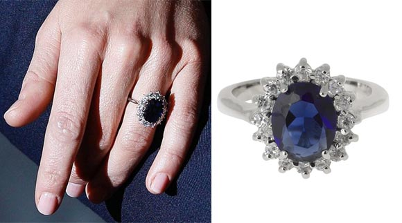 The £18 copy of Kate Middleton's engagement ring continues to be M&S best seller