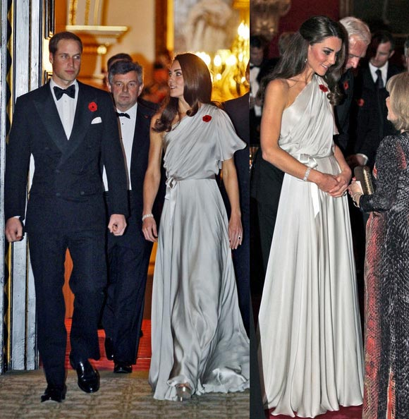 Kate Middleton looks like a Greek goddess at charity dinner