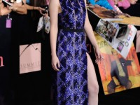kristen stewart twilight breaking dawn premiere los angeles j mendel dress 2011