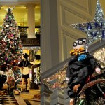 SEE Lanvin's Christmas tree for Claridge's