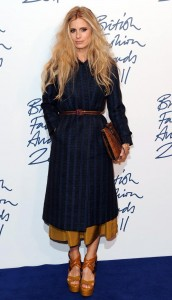 laura bailey british fashion awards 2011
