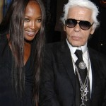 Naomi Campbell and Karl Lagerfeld try their hand at editing