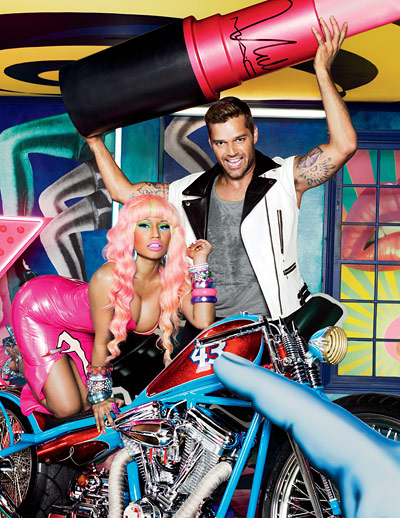 First look: Nicki Minaj and Ricky Martin's MAC Viva Glam ad campaign