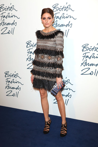 olivia palermo british fashion awards 2011