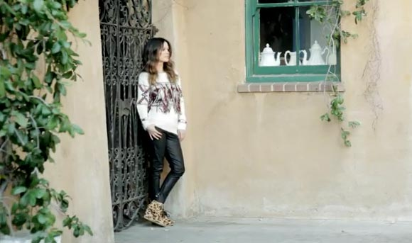 WATCH Rachel Bilson unveil her debut shoe collection