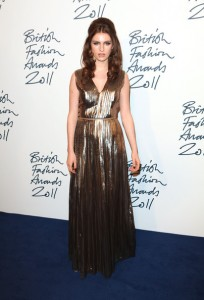 tali lennox british fashion awards 2011