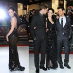 Kristen Stewart, Robert Pattinson and Taylor Lautner hit the red carpet for the London premiere of Twilight: Breaking Dawn Part 1