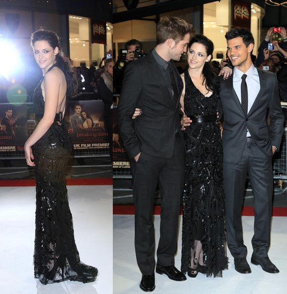 twilight breaking dawn part 1 london premiere westfield stratford