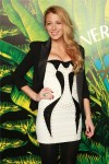 versace for h&m blake lively fashion show new york 2011
