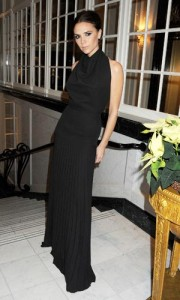 victoria beckham british fashion awards 2011
