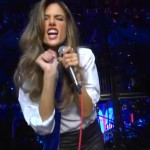 Watch the Victoria's Secret models lip sync to Moves Like Jagger