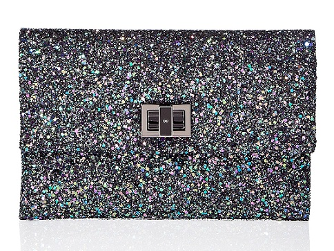 Lunchtime buy: Anya Hindmarch glitter clutch