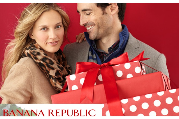 Day 10: Get free delivery at Banana Republic