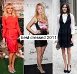 Best dressed celebs 2011