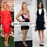 Best of 2011: best dressed celebs