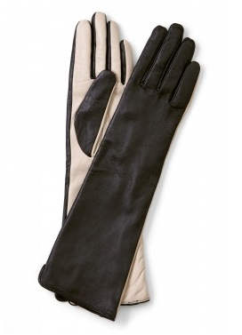 By Malene Birger contrast leather gloves