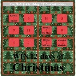 12 days of Christmas advent calendar 2011