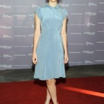 Felicity Jones looks cute as a button in Calvin Klein