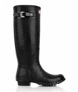 Hunter Carnaby Boa wellies