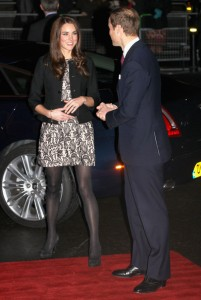 Kate Middleton Zara black and white