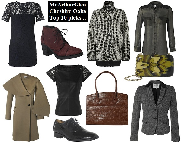 Our top winter picks from Cheshire Oaks!
