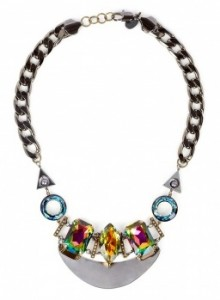 Merle O'Grady gunmetal necklace