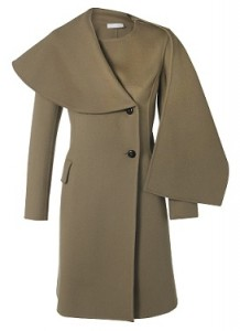 Nicole Farhi Camel Wrap Neck Coat - RRP £XXX Outlet £715