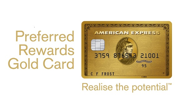 Put that on my card: earn points for flights, spa breaks, gifts and more with American Express