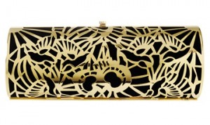 Reiss Harry Metal Clutch Bag