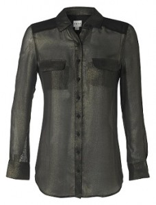 Reiss Sheer Lurex Shirt at McArthurGlen- RRP £XXX Outlet £59
