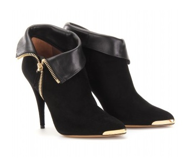 Lunchtime buy: Tabitha Simmons Ester suede and leather ankle boots