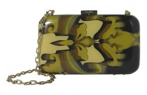 Ted Baker Damask Print Hard Clutch at McArthurGlen- RRP £89 Outlet £59