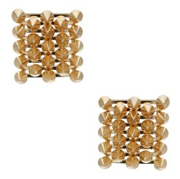 Topshop premium spike stud earrings