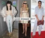 Worst dressed 2011