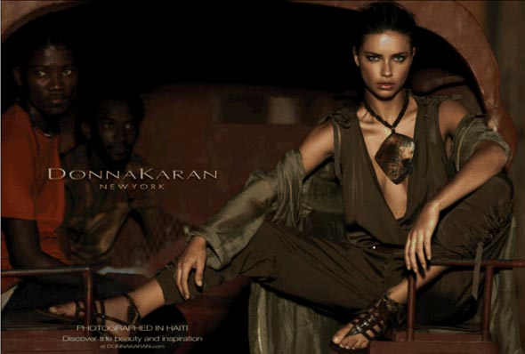Donna Karan's Haiti-inspired ad campaign sparks controversy, her people hit back