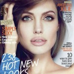 Angelina Jolie stuns on Marie Claire's January 2012 cover