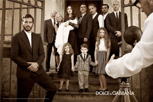 Dolce and Gabbana's menswear spring/summer 2012 campaign inspired by Italian cinema