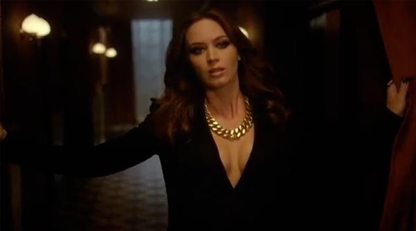 WATCH the YSL Opium commercial featuring Emily Blunt and a leopard