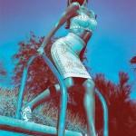 Gisele Bündchen smoulders for Versace's spring/summer 2012 campaign