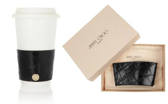Jimmy Choo launches luxury coffee cup sleeves!