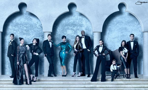 Merry Christmas from the Kardashians… kind of