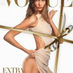 Proof that Vogue Italia didn't photoshop December covergirl Karlie Kloss