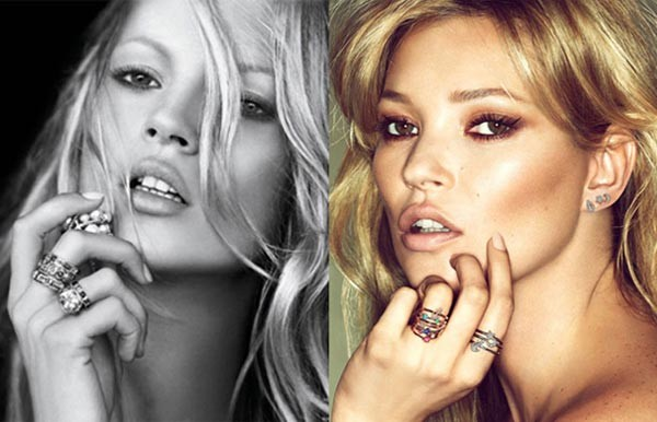 Kate Moss's Fred campaign accused of plagiarising David Yurman