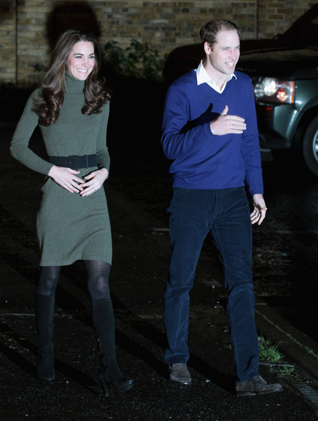 Kate Middleton does casual chic in Ralph Lauren jumper dress